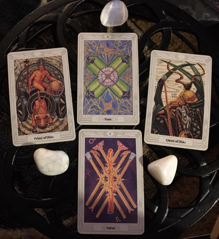 The Conflict Within ~ Tarot for 2 March 2017