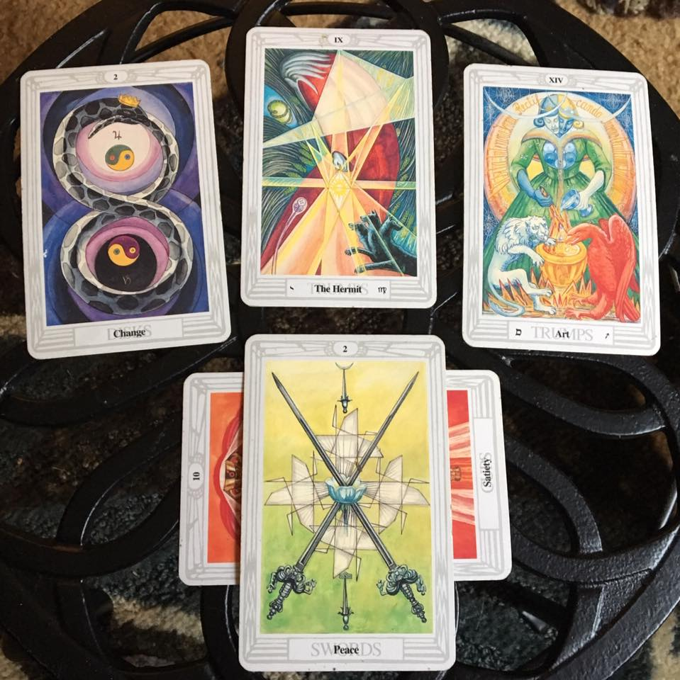 Peace Within The Unified Self ~ Tarot for 7 March 2017