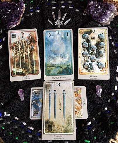 Revolution ~ Tarot for 11 April 2017