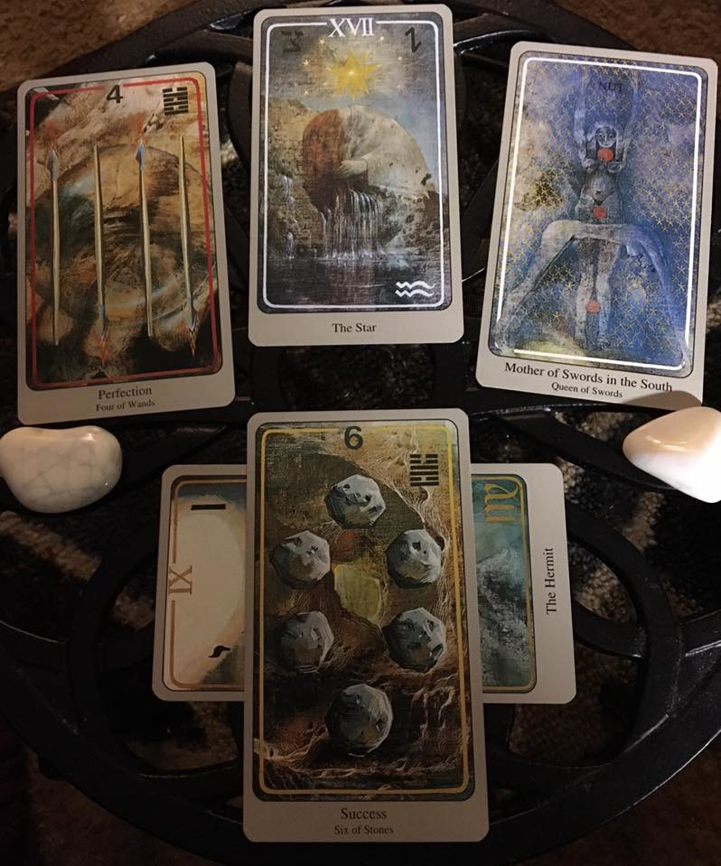 The Resonance of Our Unified Presence ~ Tarot for 2 April 2017