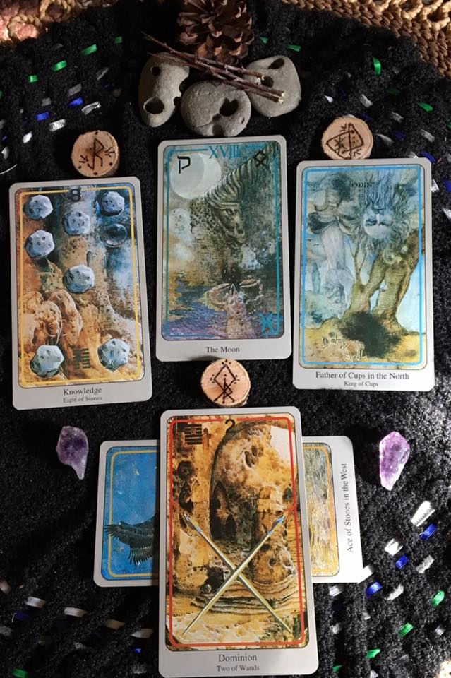 Dominion and Unity of Purpose ~ Tarot for 29 April 2017