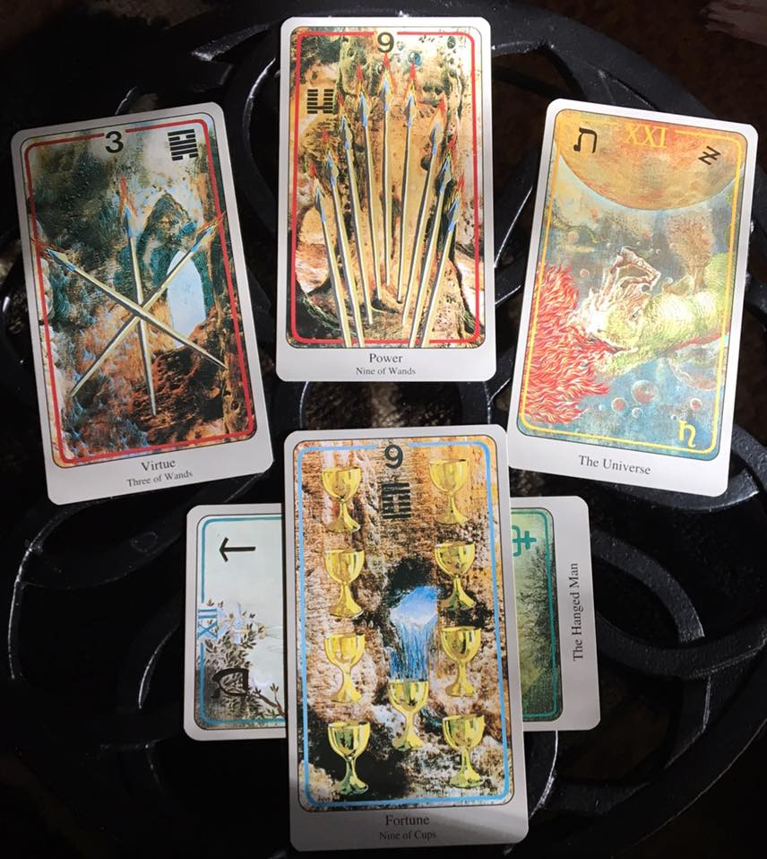 In Unification, We Experience Completion ~ Tarot for 3 April 2017