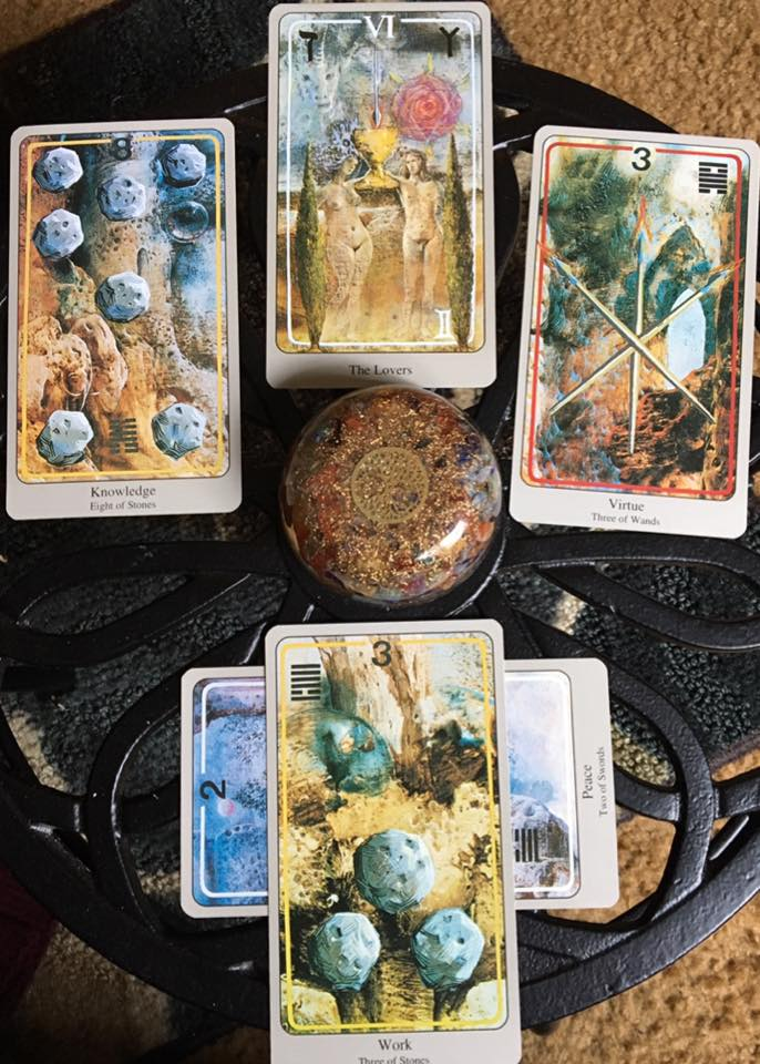 Our Tradition of Fellowship ~ Tarot for 6 April 2017